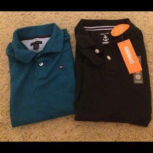 Set of 2 boys short sleeve polo shirts
